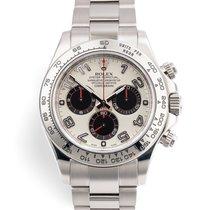 Rolex 116509 Or blanc 2012 Daytona 40mm occasion