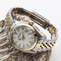 Rolex Lady-Datejust Ouro/Aço 26mm Champanhe