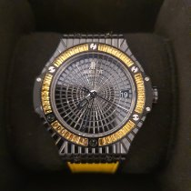 Hublot Big Bang Caviar Cerâmica Preto Sem números
