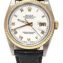 Rolex Datejust 16233 Хорошее Золото/Cталь 36mm Автоподзавод