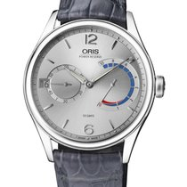 Oris Artelier Calibre 111 Steel 43mm Silver Arabic numerals United States of America, New Jersey, Somerset