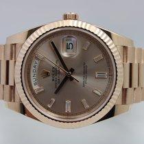 Rolex Day-Date 40 Roségoud 40mm Roze Romeins Nederland, Rijnsburg