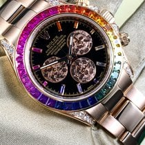 Rolex Daytona Oro rosa 40mm Nero Senza numeri Italia, Sanremo