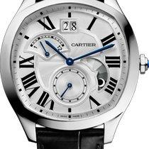 Cartier новые Автоподзавод Прозрачная задняя крышка Малый секундный циферблат 40mm Сталь Сапфировое стекло
