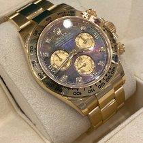 Rolex Daytona Oro amarillo 40mm Madreperla Sin cifras