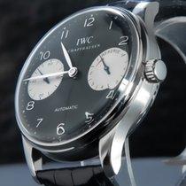 IWC occasion Remontage automatique 42mm Noir Verre saphir