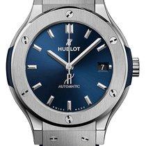 Hublot Classic Fusion Blue Titan 38mm Blau Keine Ziffern Deutschland, München