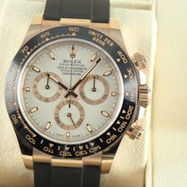 Rolex Red gold Automatic White 40mm pre-owned Daytona