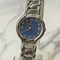 Ebel Beluga Steel 22mm Blue Roman numerals United States of America, Ohio, Columbus