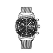 Breitling Superocean Héritage Chronograph Steel 44mm Black No numerals United States of America, New York, New York