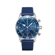 Breitling Superocean Héritage Chronograph Steel 44mm Blue No numerals United States of America, New York, Forest Hills