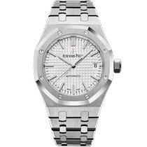 Audemars Piguet Royal Oak Selfwinding neu 2020 Handaufzug Uhr mit Original-Box und Original-Papieren 77350ST.OO.1261ST.01