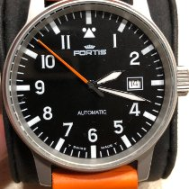 Fortis Steel 40mm Automatic 595.10.46.1 new