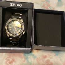 Seiko 5 Steel 41mm Black United States of America, New Jersey, North bergen