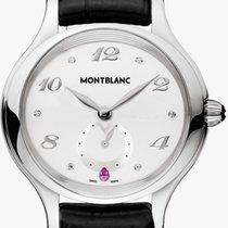 Montblanc 107335 Steel 2019 Princess Grace De Monaco 34mm new