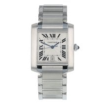 Cartier Tank Française Steel 28mm White Roman numerals United States of America, California, SAN DIEGO