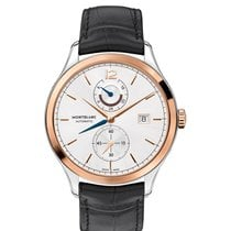 Montblanc Heritage Chronométrie Gold/Steel 41mm White No numerals