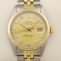 Rolex Datejust 16013 Diamant Diamond 1982 gebraucht