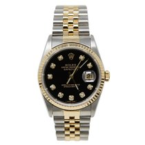 Rolex 16233 Gold/Steel 2002 Datejust 36mm pre-owned United States of America, California, SAN DIEGO