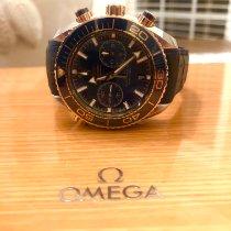 Omega 215.23.46.51.03.001 Or/Acier 2017 Seamaster Planet Ocean Chronograph 45.5mm occasion