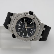 Audemars Piguet Royal Oak Offshore Diver Steel 42mm Black No numerals United States of America, California, Santa Monica