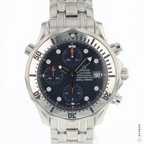 Omega 25988000 Acier 2002 Seamaster Diver 300 M 41.5mm occasion