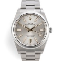 Rolex Oyster Perpetual Steel 41mm No numerals