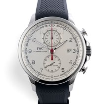 IWC Portuguese Yacht Club Chronograph IW390211 Very good Steel 43.5mm Automatic