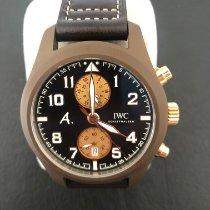 IWC Pilot Chronograph IW388006 Foarte bună Ceramica 46mm Atomat