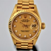 Rolex Lady-Datejust 69178 Muito bom Ouro amarelo 26mm Automático Portugal, Lisboa