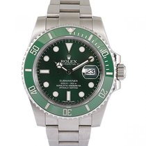 Rolex Steel 40mm Automatic 116610LV pre-owned