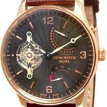 Zeno-Watch Basel OS Retro 6791TT-RG-F1 Nuevo Oro rosa Cuerda manual