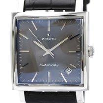 Zenith New Vintage 1965 Steel 33mm Grey