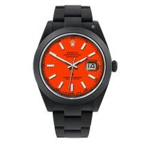 Rolex Datejust II Steel 41mm Orange