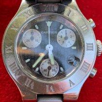 Cartier 21 Chronoscaph 2996 Satisfaisant Acier 30mm Quartz France, Tourcoing