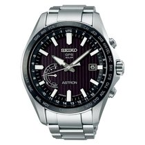 Seiko Astron GPS Solar Chronograph SSE161J1 New Steel 45.4mm