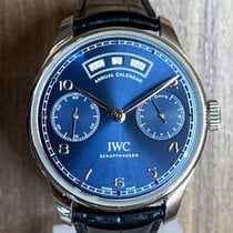 IWC Portuguese Annual Calendar IW503502 Very good Steel 44.2mm Automatic