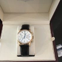 Longines Rose gold Automatic Silver 38.5mm pre-owned Master Collection