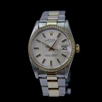 Rolex Oyster Perpetual Date 1505 Sehr gut Gold/Stahl 34mm Automatik