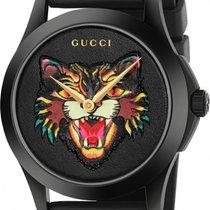 Gucci G-Timeless YA1264021 Neu Stahl 38mm Quarz