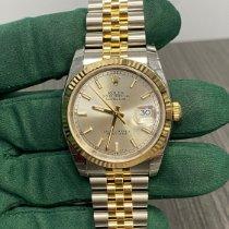 Rolex Datejust 116233 Neu Gold/Stahl 36mm Automatik