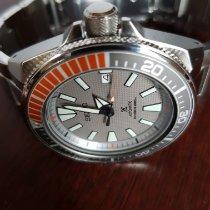 Seiko Prospex Stahl 44mm Grau