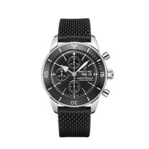 Breitling Superocean Héritage Chronograph Steel 44mm Black No numerals United States of America, New York, Forest Hills
