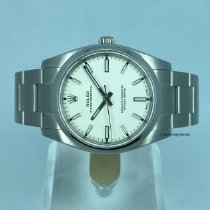 Rolex Oyster Perpetual 34 Steel 34mm White United States of America, Kentucky, Lexington