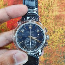 Patek Philippe Annual Calendar Chronograph 5905P Новые Платина 42mm Автоподзавод