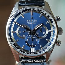 Zenith El Primero Chronograph Steel Blue United States of America, Missouri, Chesterfield