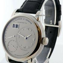 A. Lange & Söhne Platinum Automatic Silver 39.5mm pre-owned Lange 1