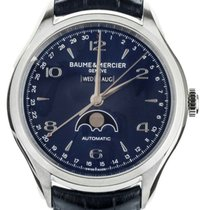 Baume & Mercier Clifton Steel 43mm Blue United States of America, Illinois, BUFFALO GROVE
