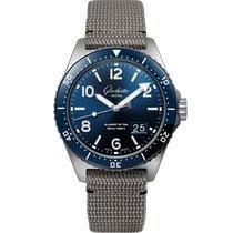 Glashütte Original PanoMaticDate new 2021 Automatic Watch with original box and original papers 1-36-13-02-81-34