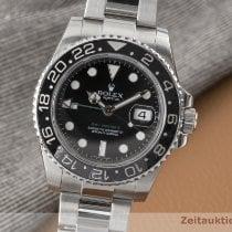 Rolex GMT-Master II Acier 40mm Noir